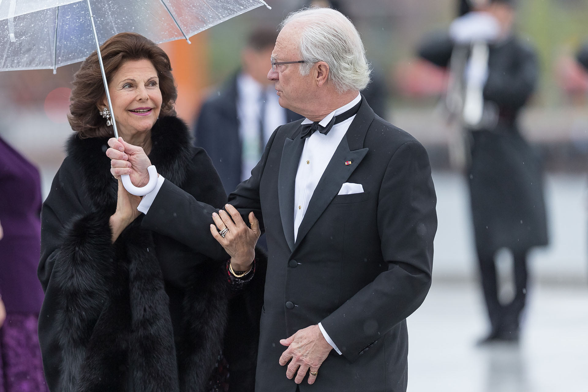 Los reyes de Suecia, Carl Gustav y Silvia