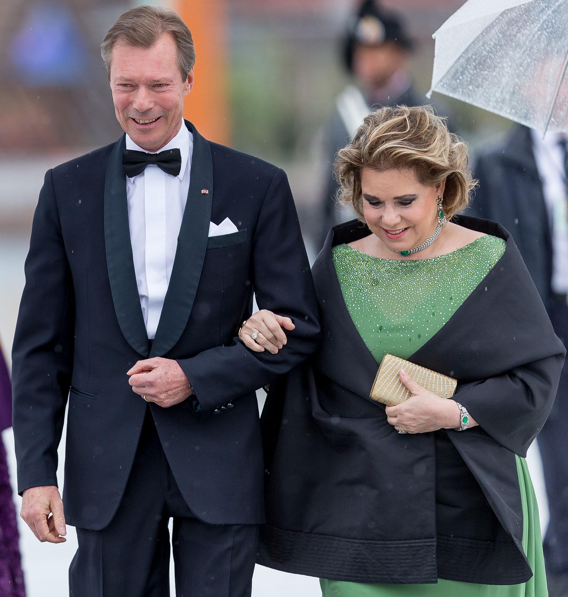 Henri, Gran Duque de Luxemburgo, y la Gran Duquesa Maria Teresa