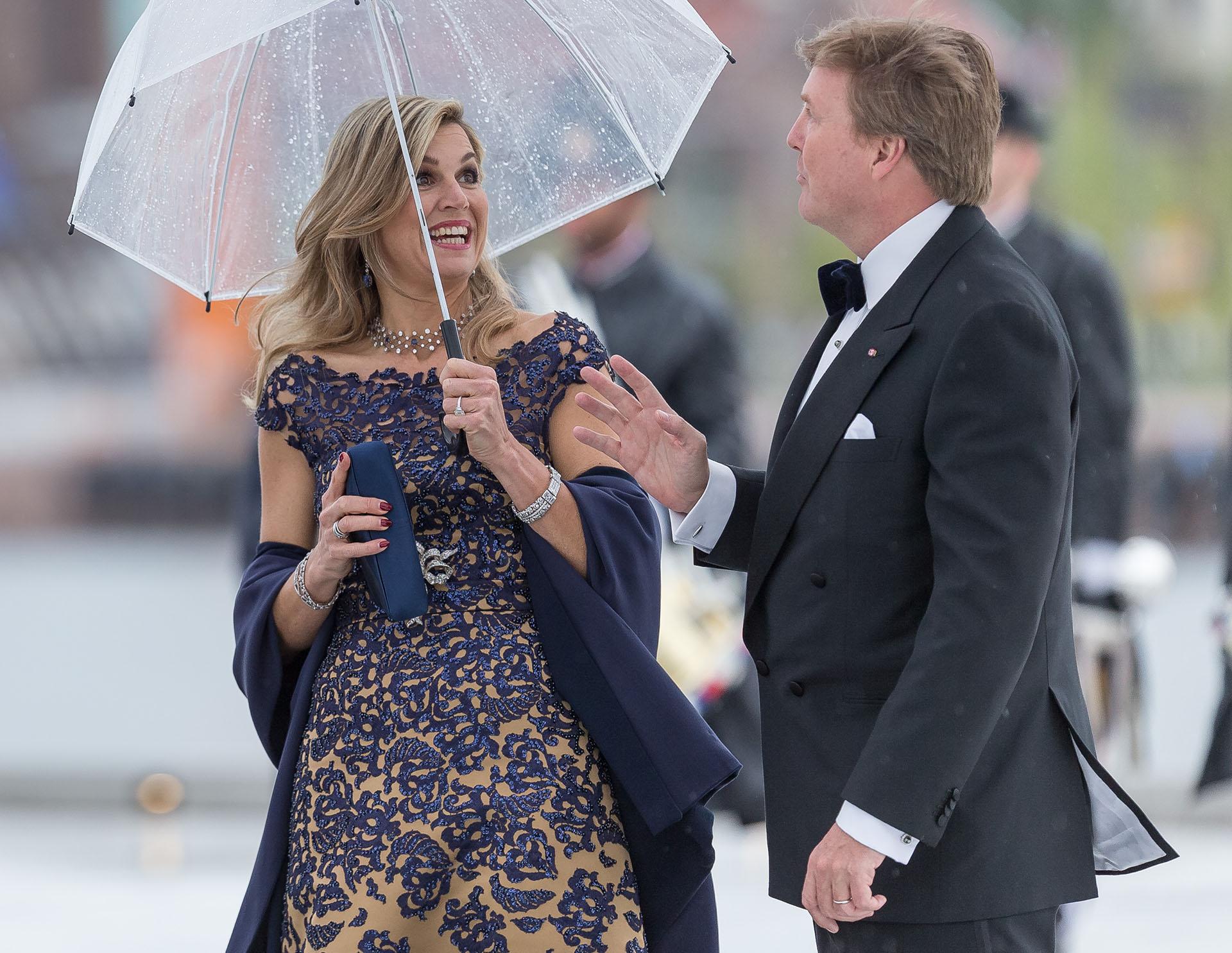 La reina Máxima de Holanda y su marido Willem-Alexander