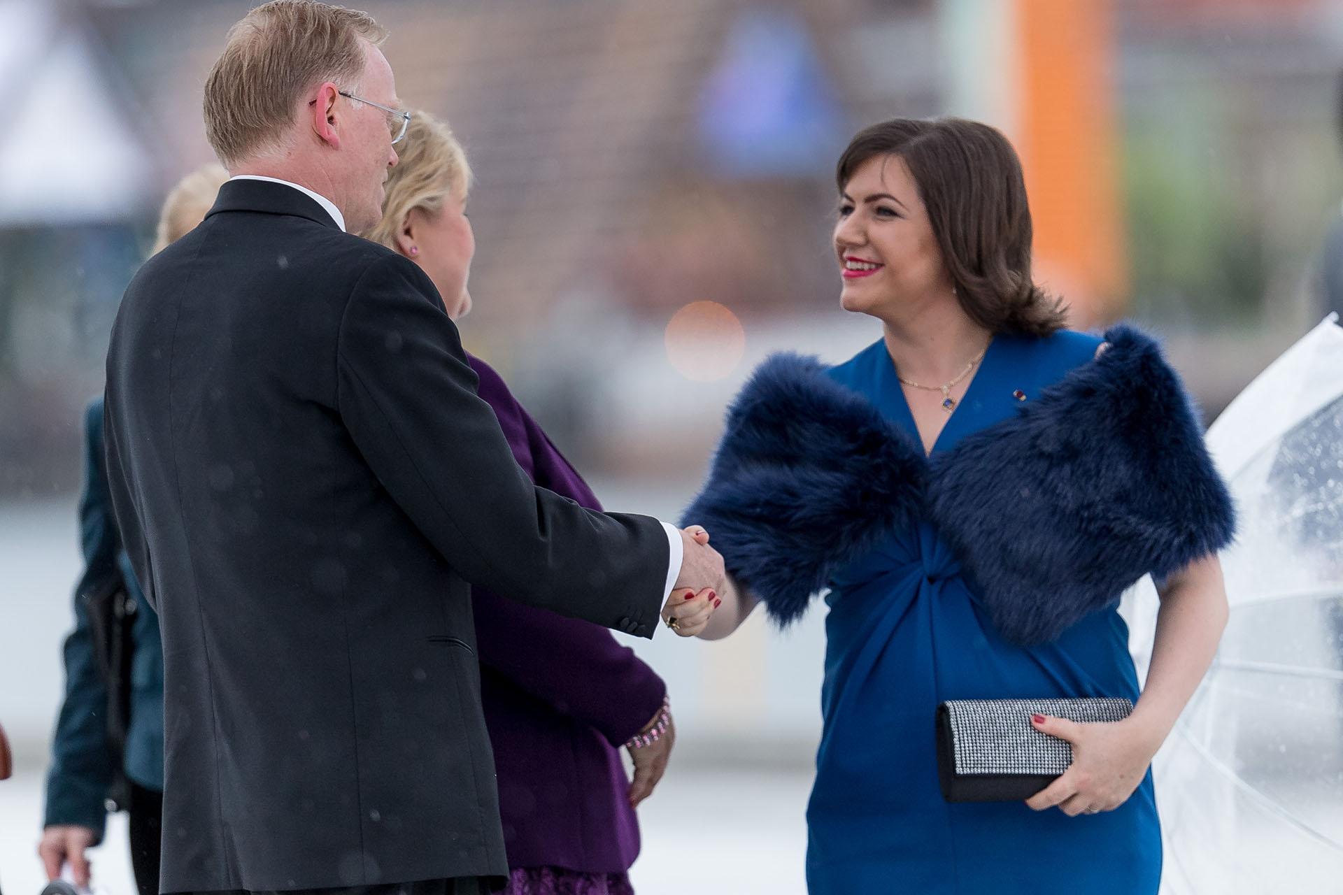 La Primera Dama de Islandia, Eliza Jean Reid /// Fotos: Reuters – Getty Images)