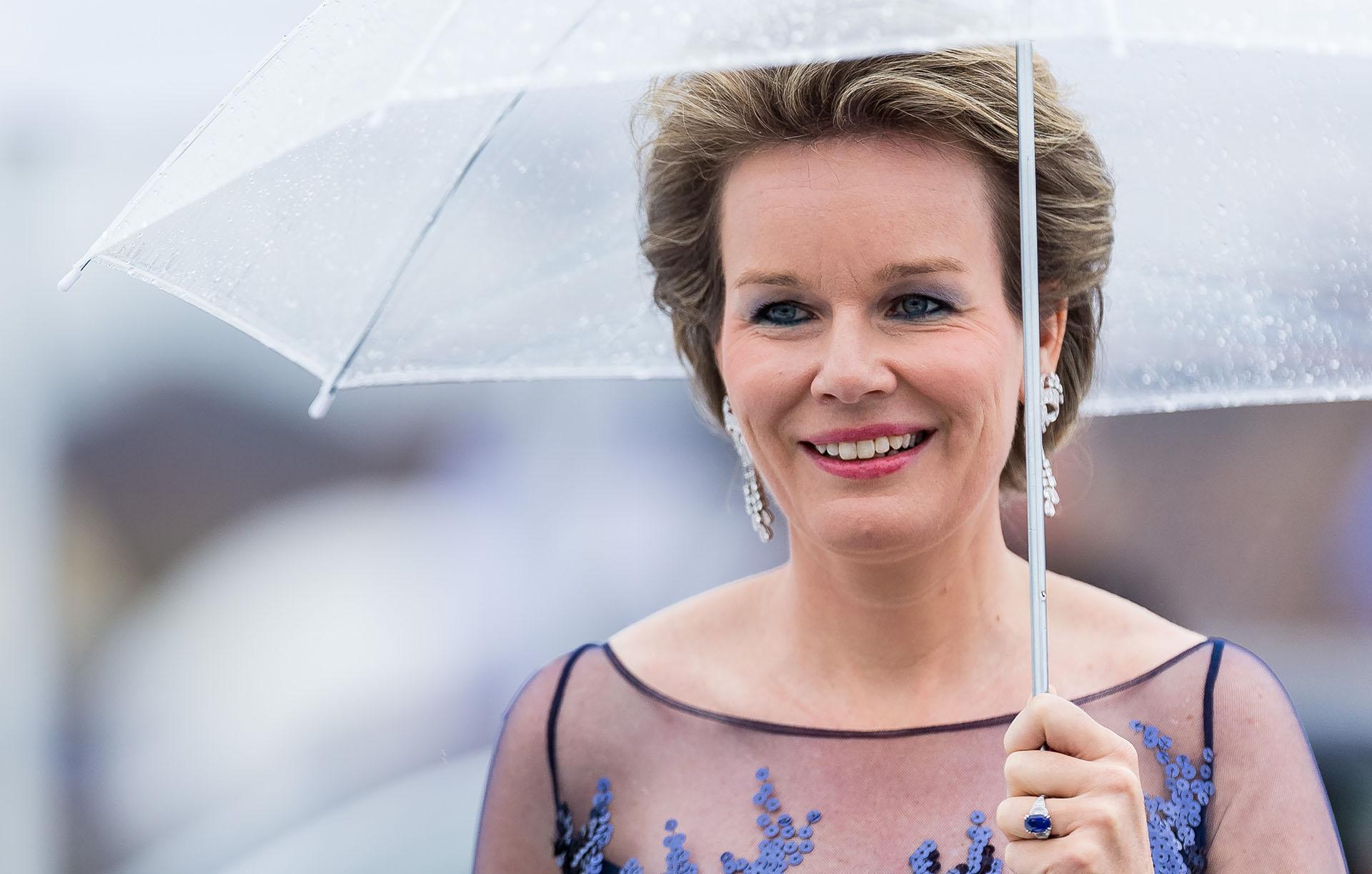 La reina Mathilde de Bélgica