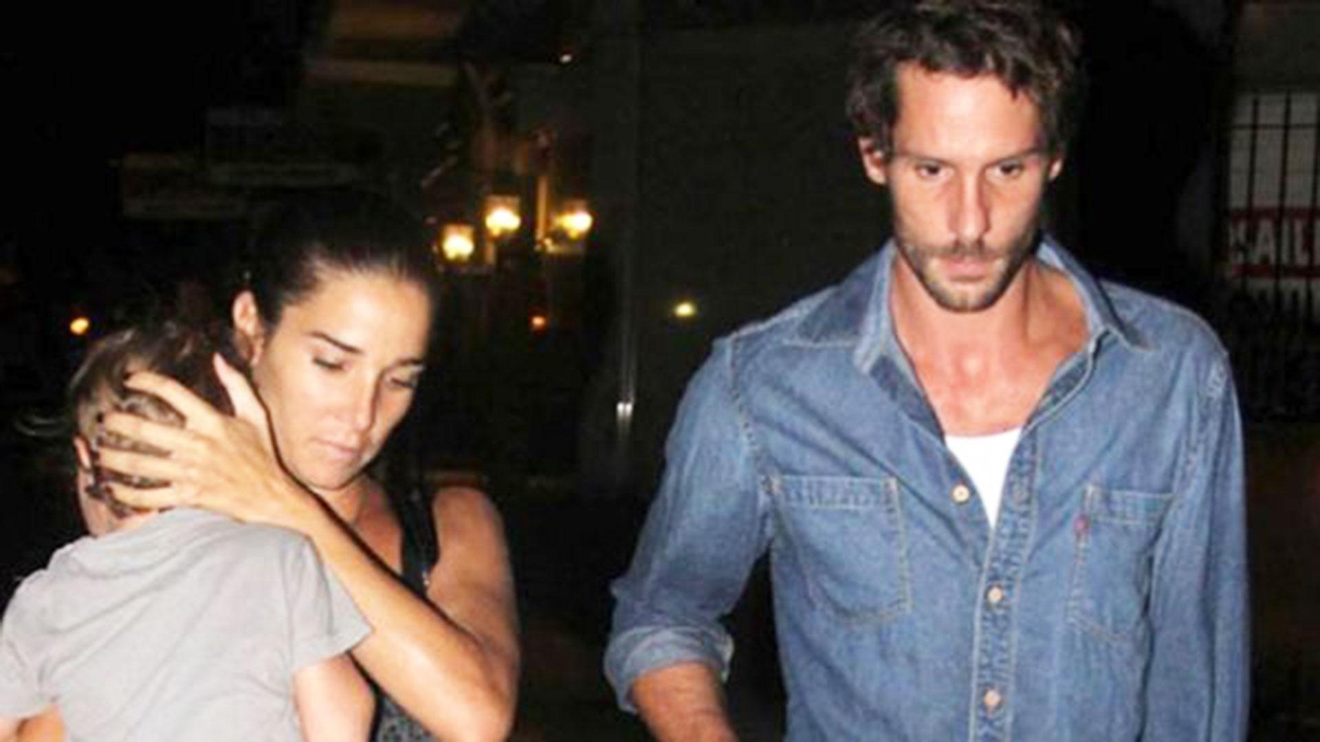 Una de las últimas fotos juntos de Juana y Gonzalo juntos