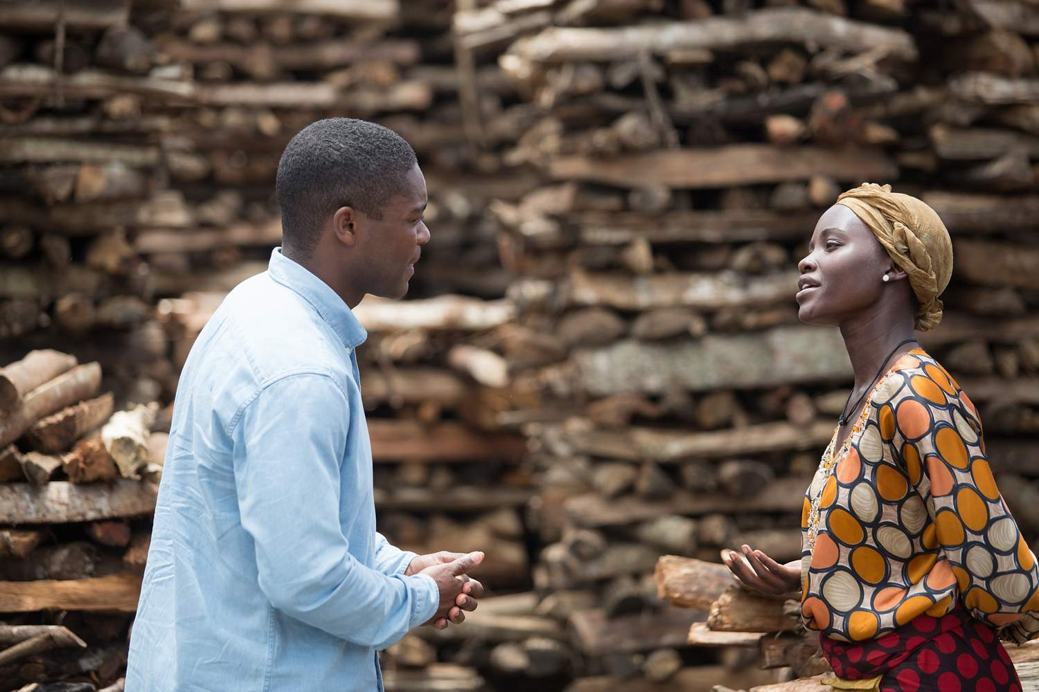 David Oyelowo plays the missionary who changes the life of Phiona, her mother, Lupita Nyong'o.