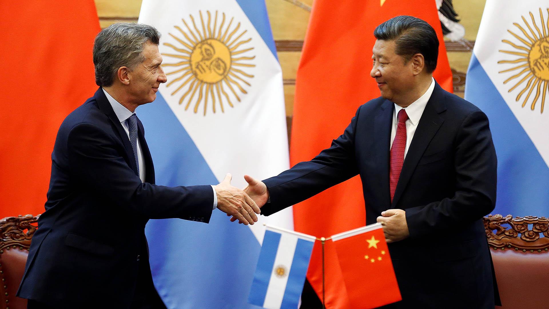 Resultado de imagen para macri con china