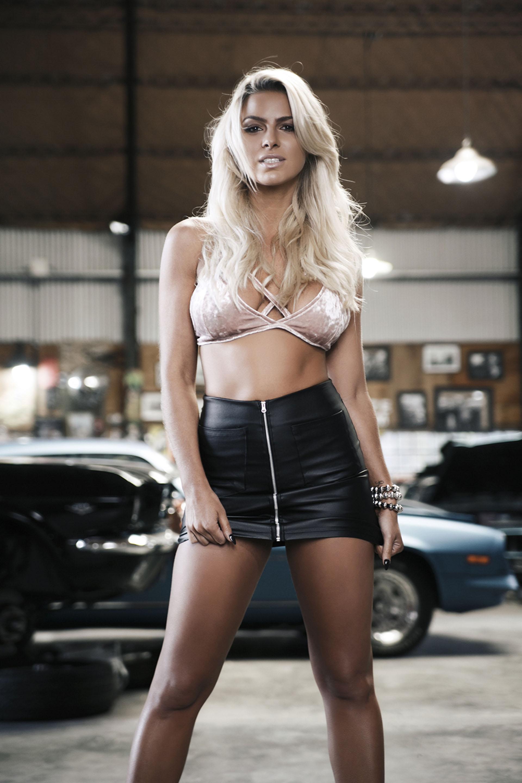 La producción sexy de Ailén Bechara en Playboy
