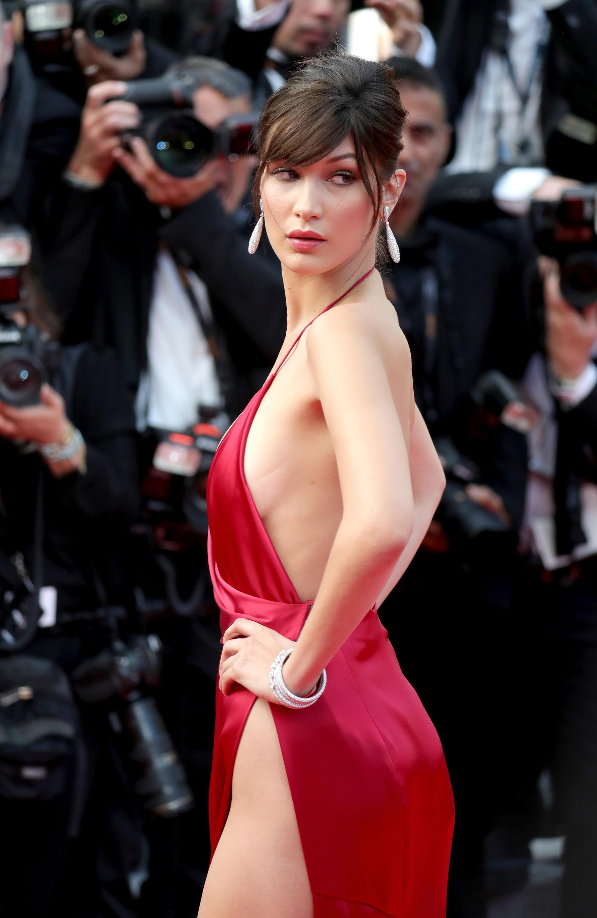 Bella Hadid en Cannes 2016 (Getty Images)