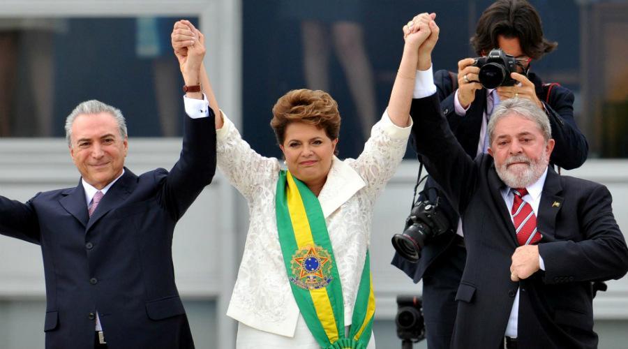 Foto brasil Dilma Temer Lula