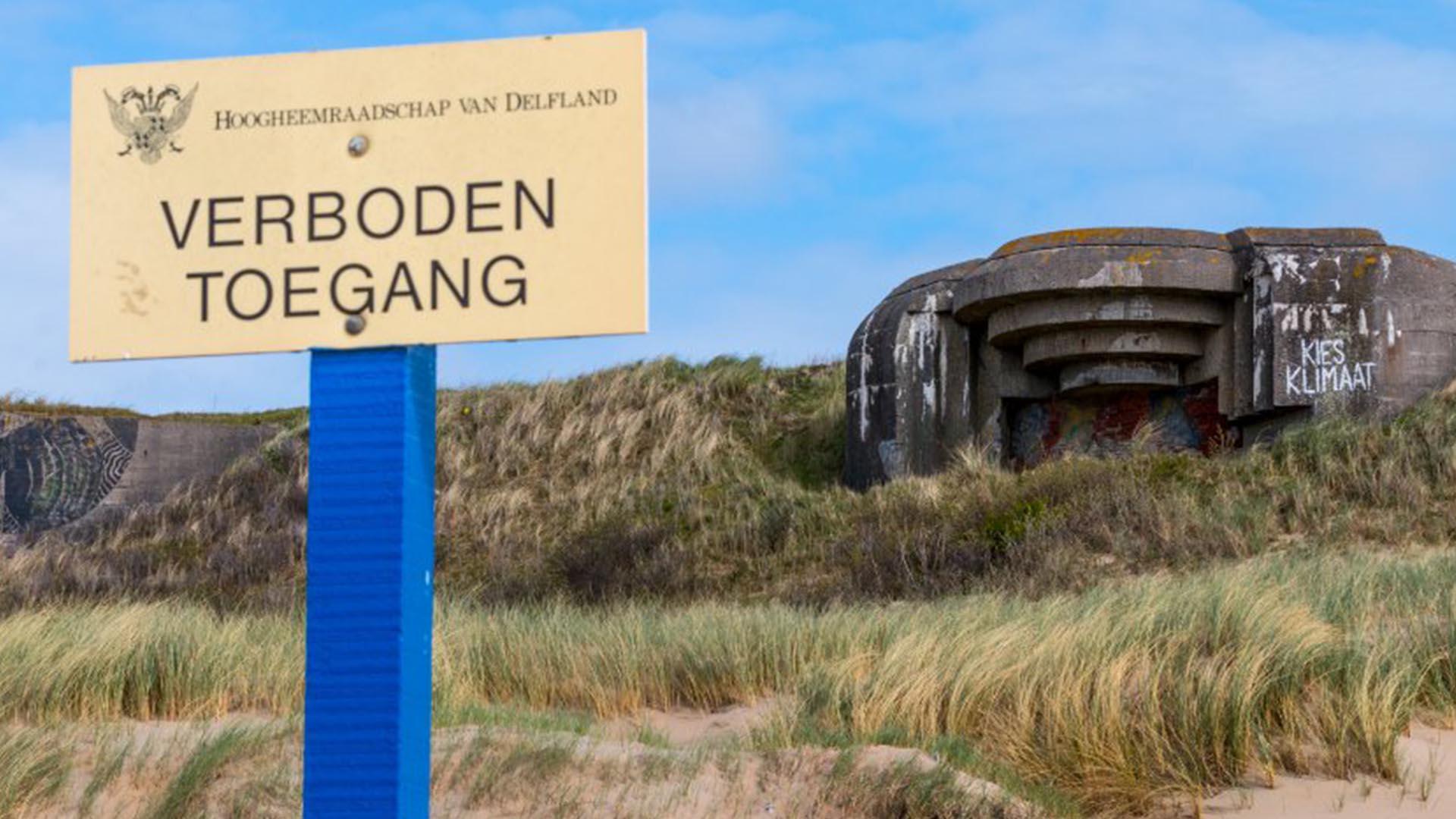 Scheveningen era un pequeño pueblo holandés con 135 mil habitantes que fueron expulsados para crear una zona de restricción (Solveig Grothe)
