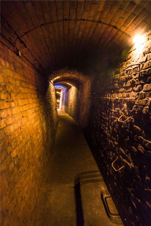 Los laberínticos pasillos que unen búnkeres a lo largo del Mar del Norte de Holanda (Solveig Grothe)