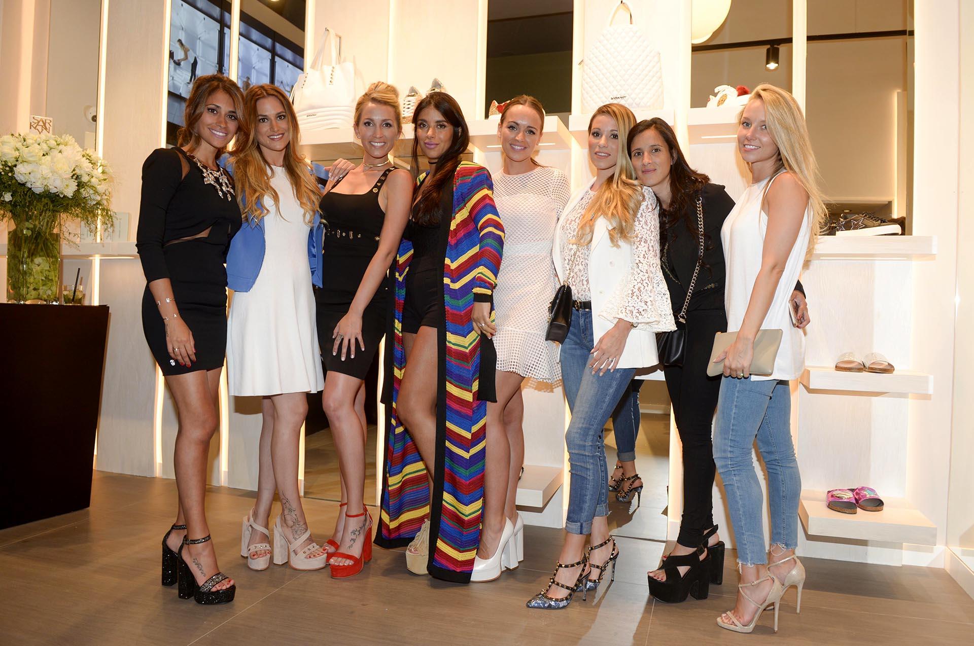 Antonella Rocuzzo, Elena Galera, Sofia Balbi, Daniella Semaan, Romarey Ventura, Raquel Mauri, Fernanda Mascherano, Daniela Jehle