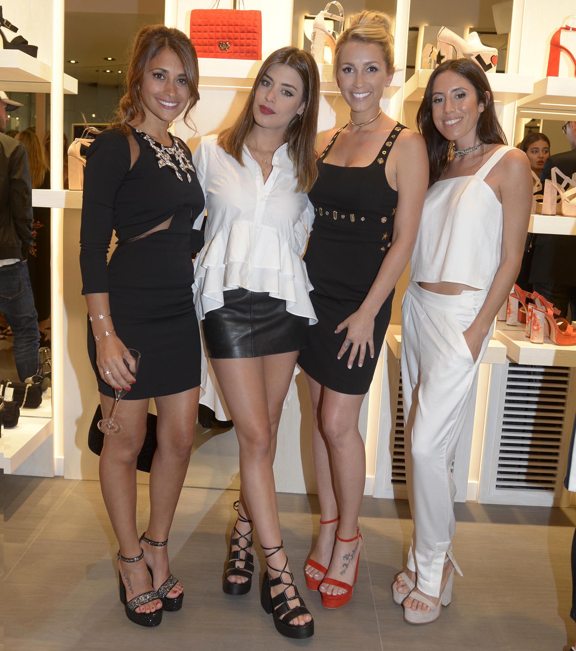 Antonella Rocuzzo, Dulceida, Sofia Balbi y Sofía Sarkany