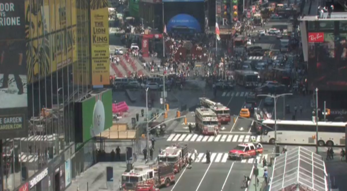 Identificado el presunto responsable del atropello múltiple en Times Square