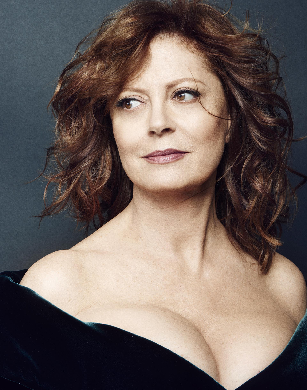 El maquillaje con efecto no make up de la actriz Susan Sarandon que luce espléndida a los 70 años