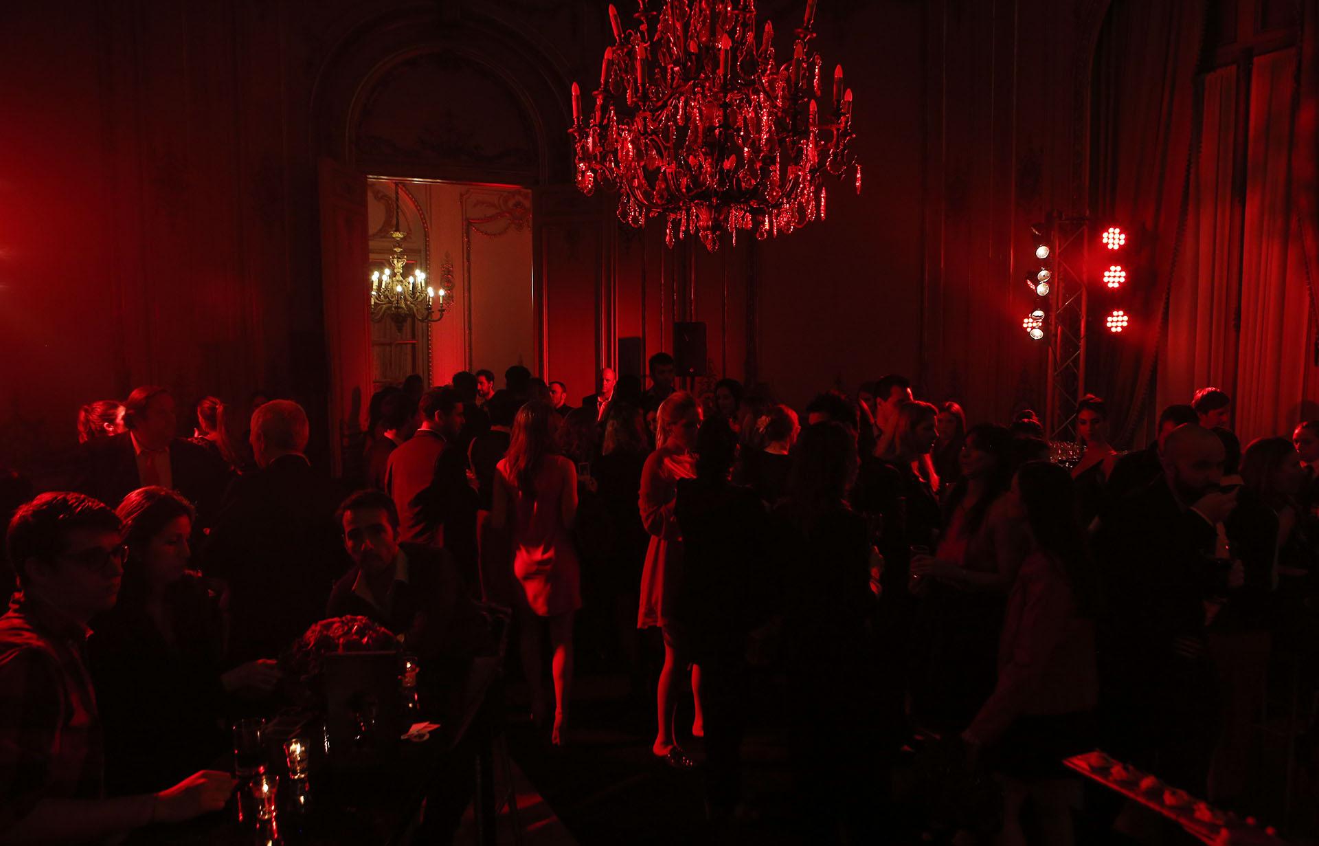 Los invitados disfrutaron de un exclusivo cóctel en el Palacio Paz