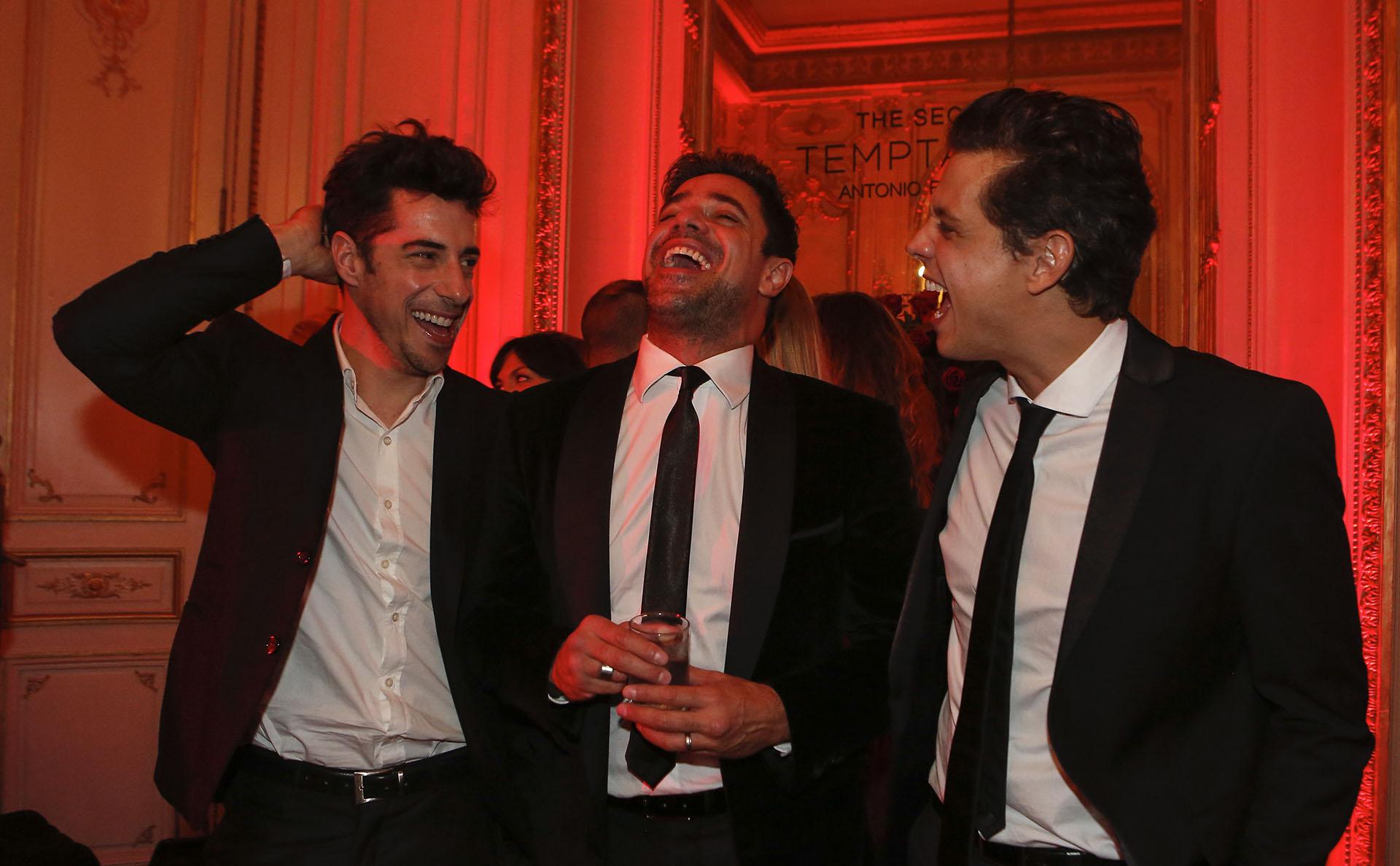 Galanes divertidos: Esteban Lamothe, Luciano Castro y Ludovico Di Santo