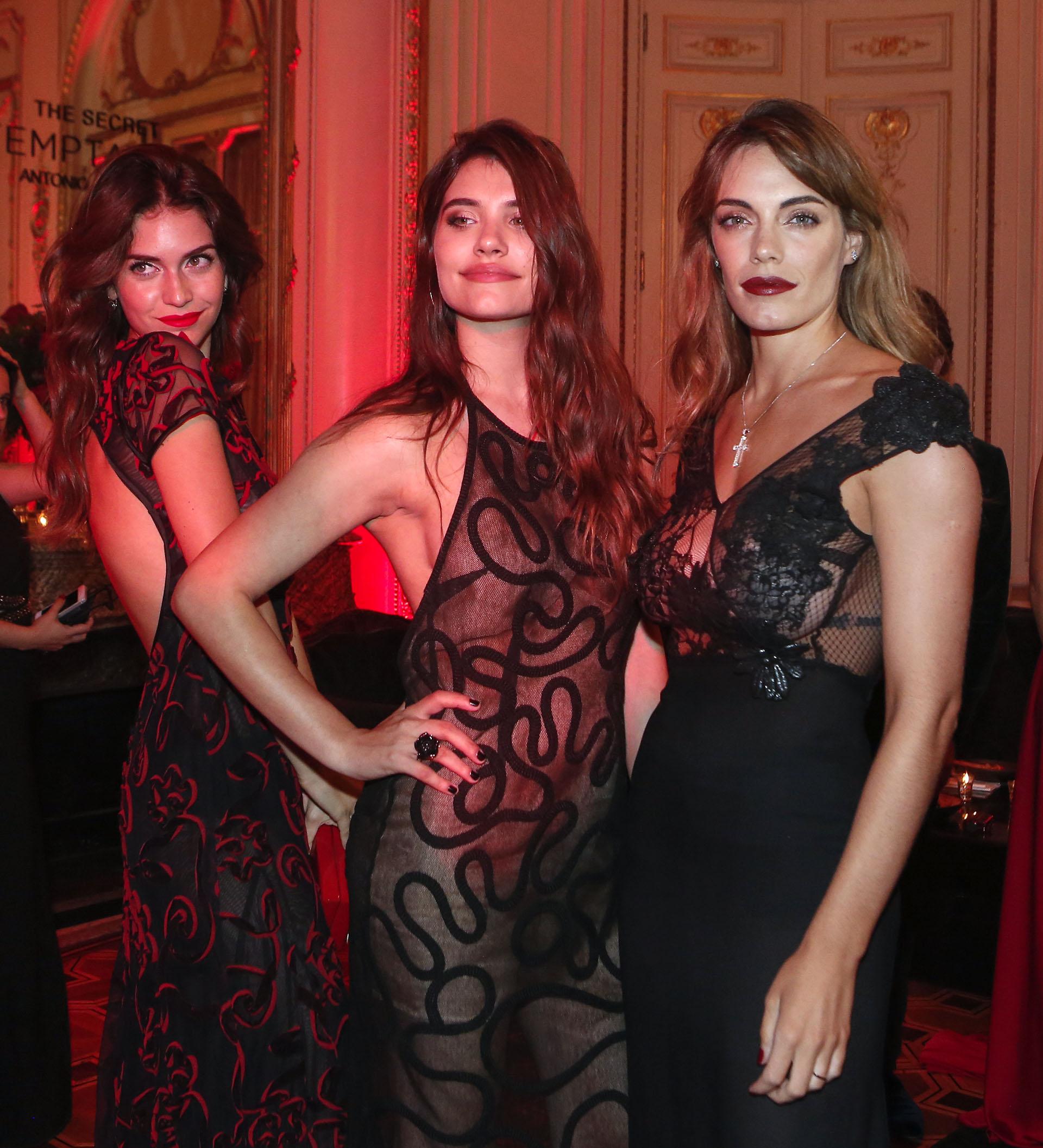 Diosas: Zaira Nara, Eva De Dominici y Emilia Attias