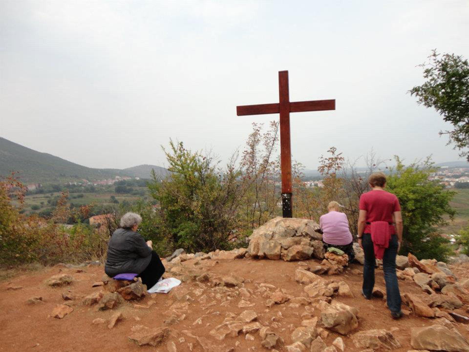 La colina de las Apariciones (fotos: Ignacio Hutin)