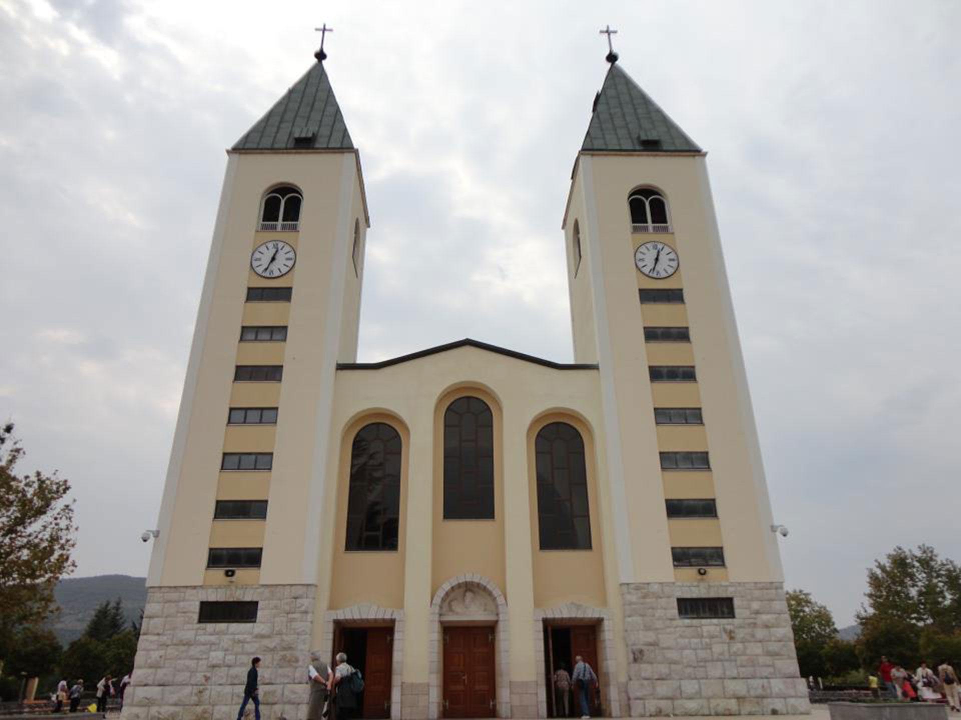 Iglesia principal Sveti Jakova de Medjugorje