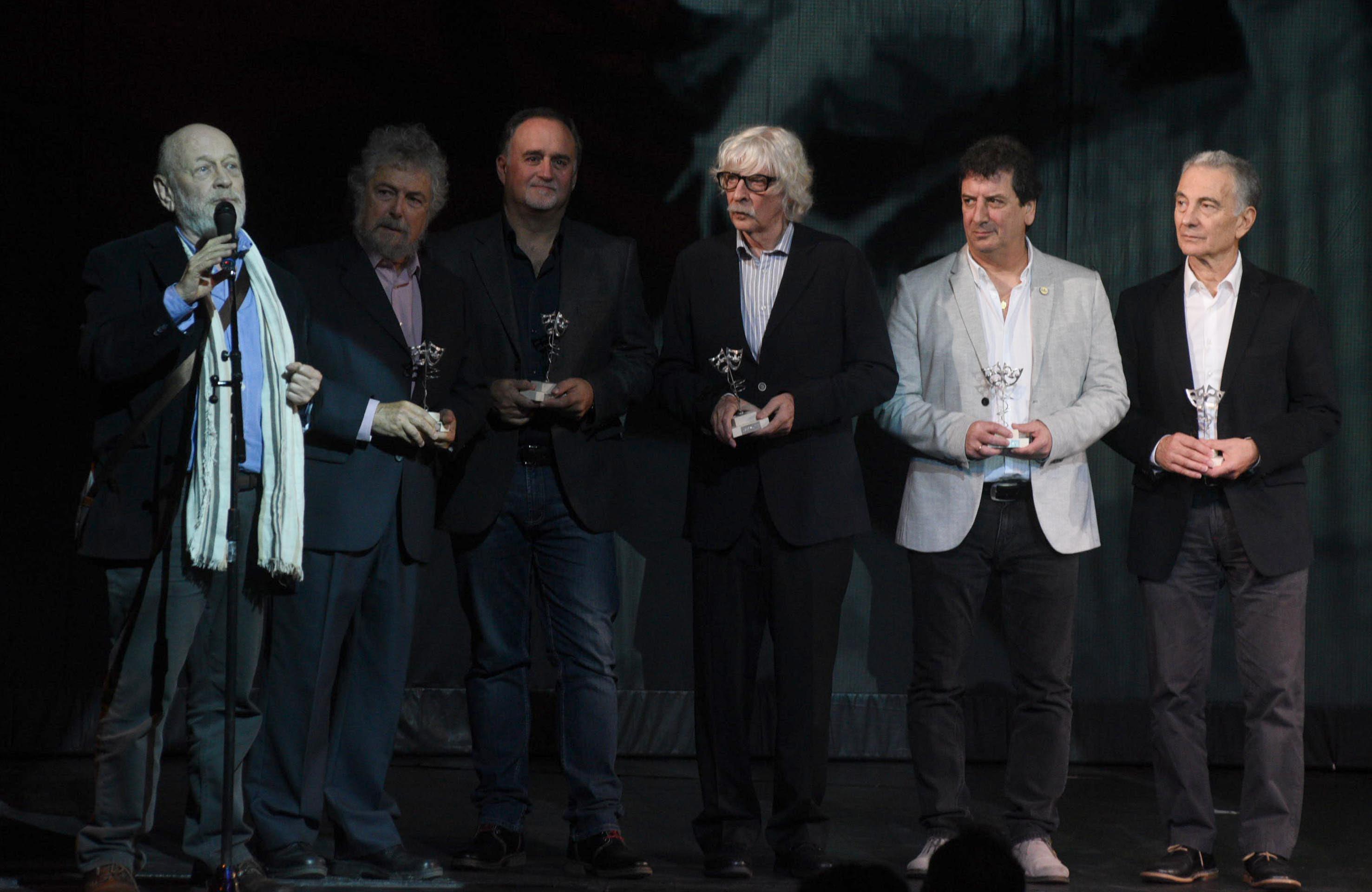Les Luthiers recibió una distinción por su trayectoria en los premios María Guerrero