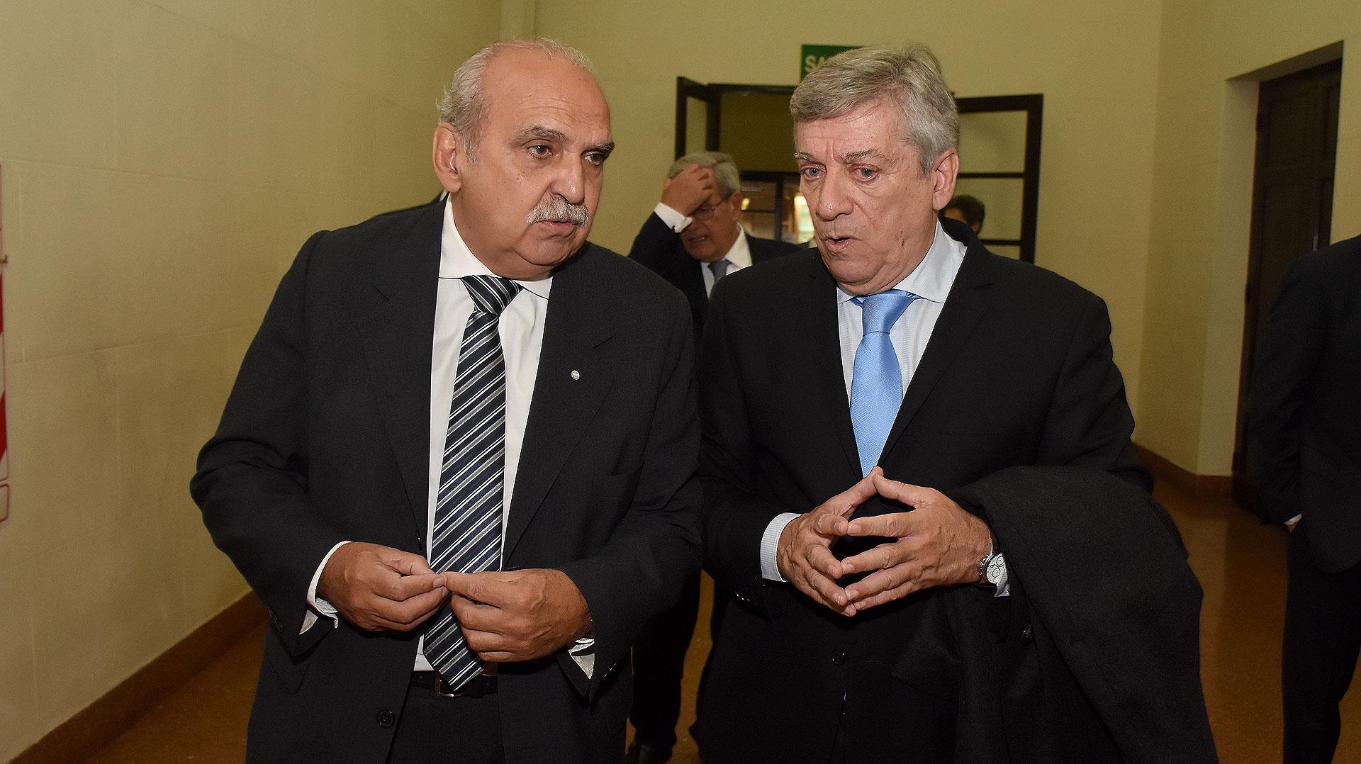 Carlos Compaired y Alberto Santamarina