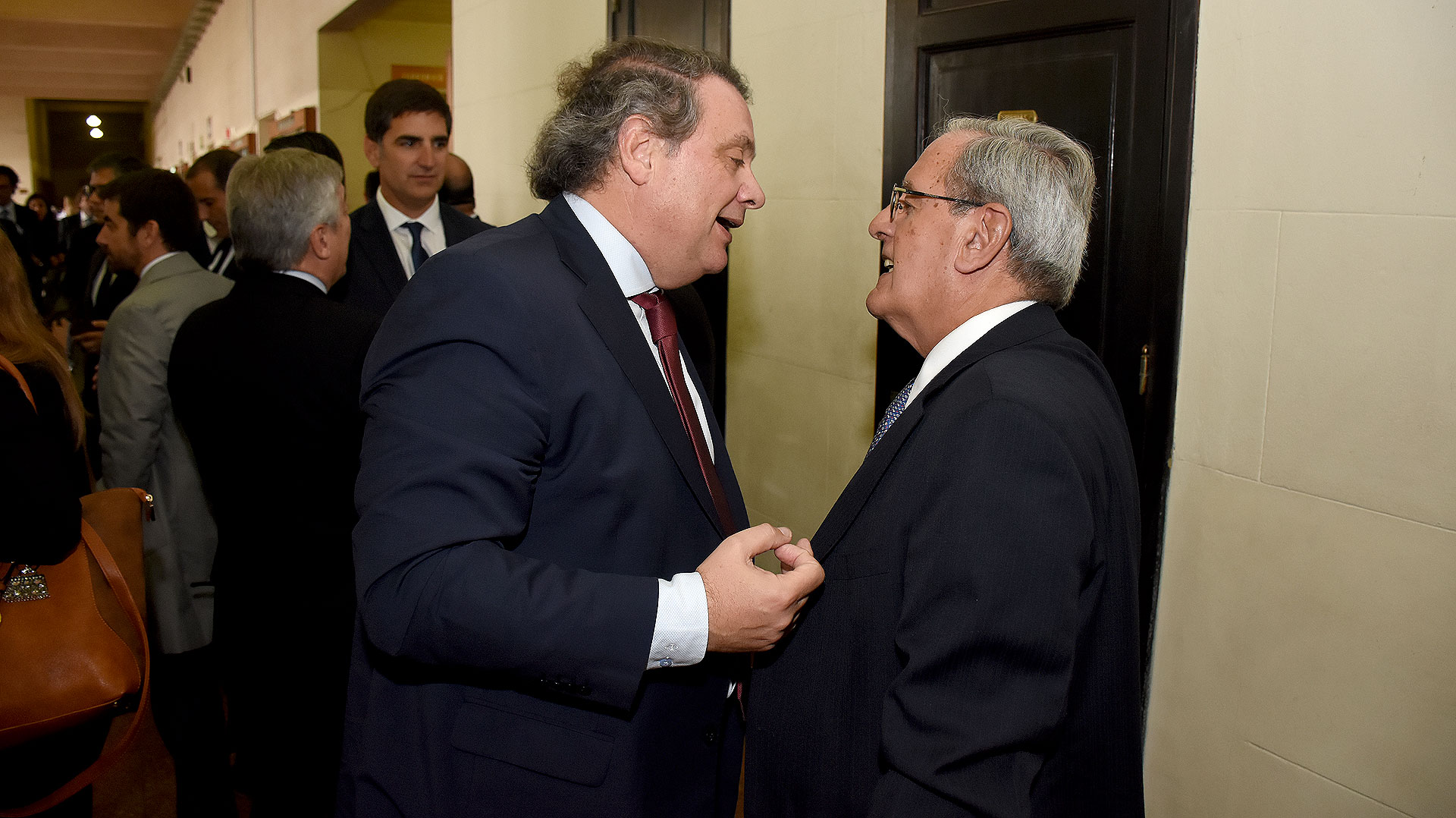 Abel Sánchez Torres y Jorge Morán