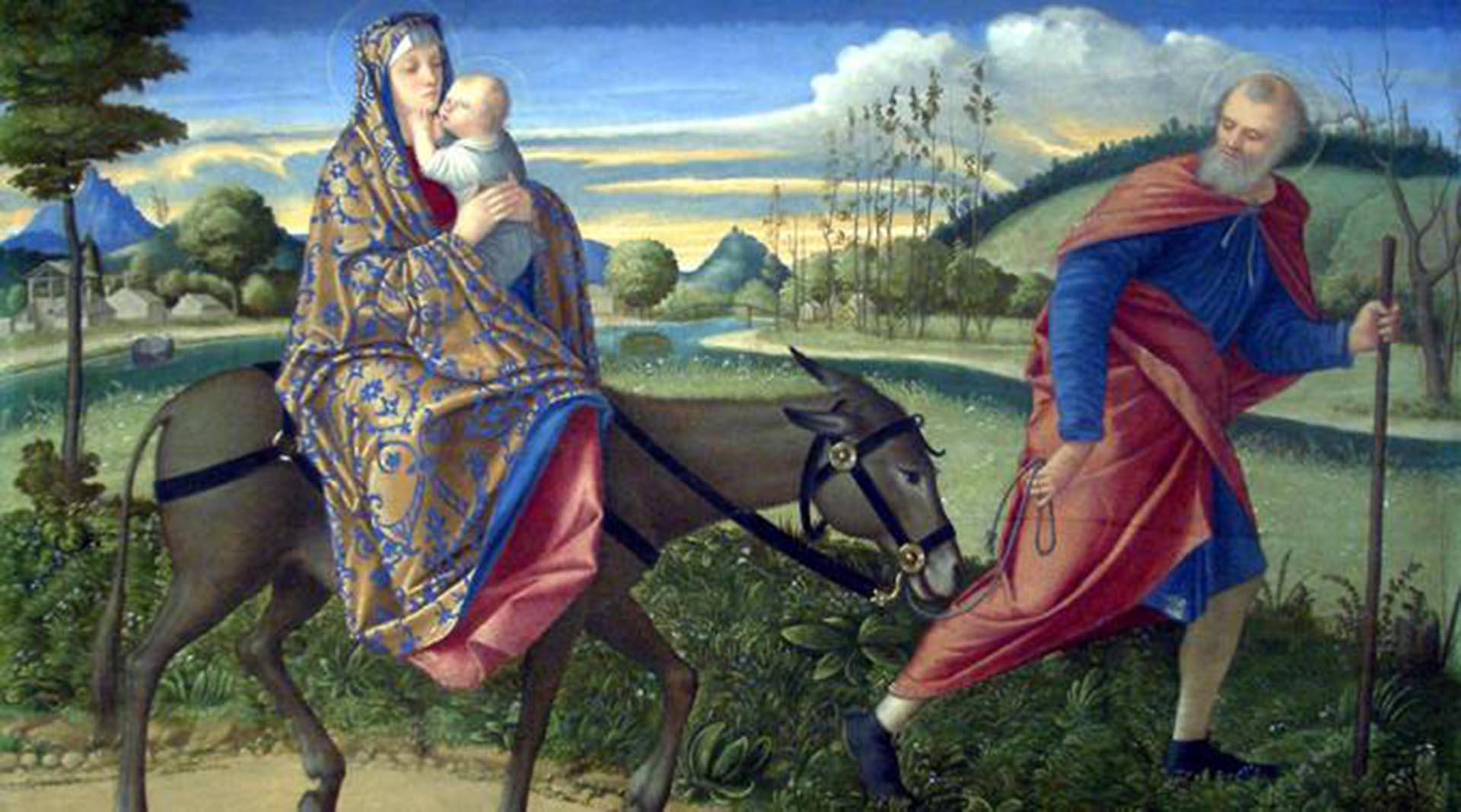 Resultado de imagen para Después que los magos se retiraron, el Ángel del Señor se apareció en sueños a José y le dijo: «Levántate, toma contigo al Niño y a su madre y huye a Egipto; y estate allí hasta que yo te diga. Porque Herodes va a buscar al Niño para matarle». Él se levantó, tomó de noche al Niño y a su madre, y se retiró a Egipto; y estuvo allí hasta la muerte de Herodes; para que se cumpliera el oráculo del Señor por medio del profeta: «De Egipto llamé a mi hijo».  Entonces Herodes, al ver que había sido burlado por los magos, se enfureció terriblemente y envió a matar a todos los niños de Belén y de toda su comarca, de dos años para abajo, según el tiempo que había precisado por los magos. Entonces se cumplió el oráculo del profeta Jeremías: «Un clamor se ha oído en Ramá, mucho llanto y lamento: es Raquel que llora a sus hijos, y no quiere consolarse, porque ya no existen».