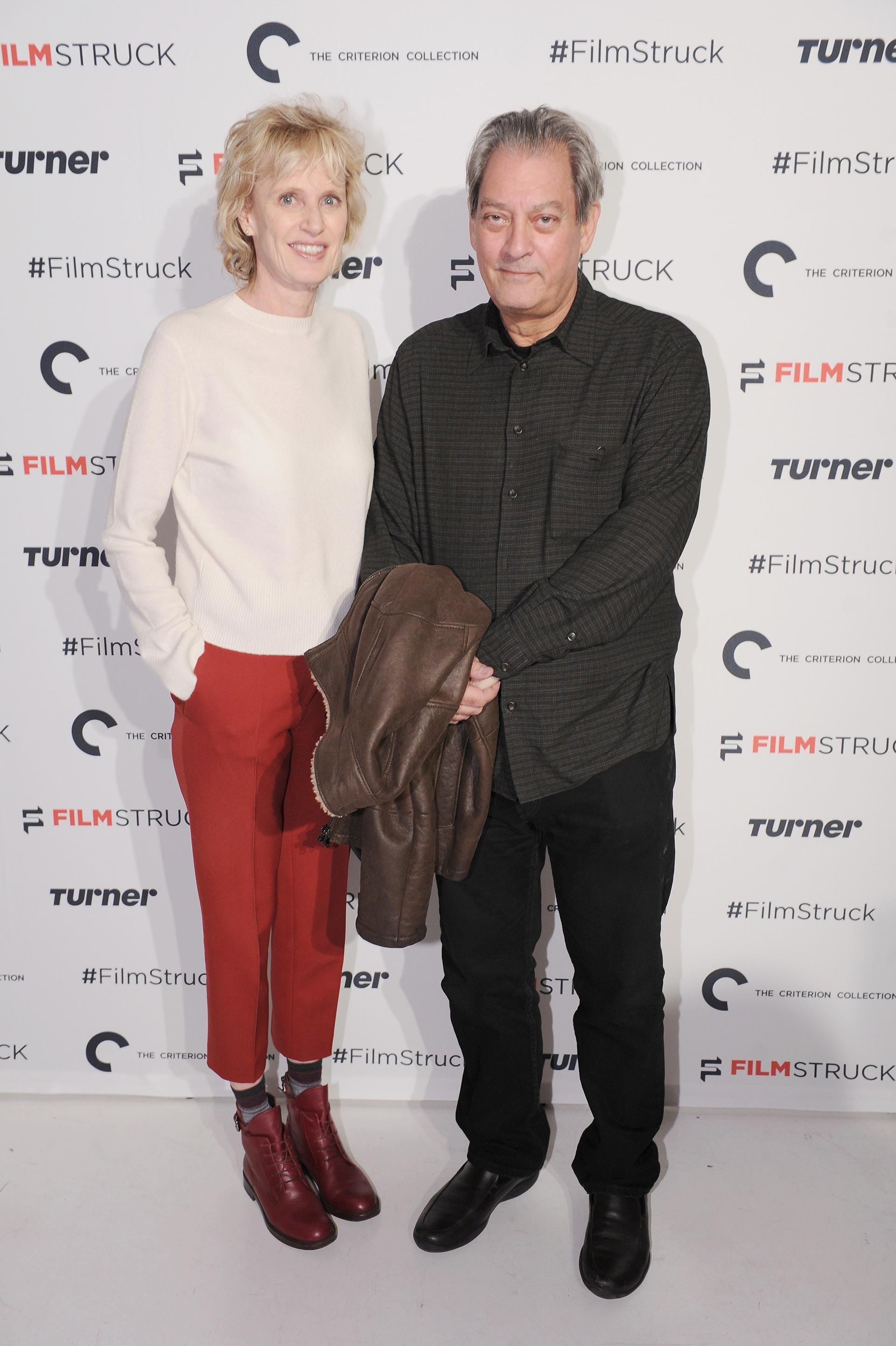 Siri Husvedt y su esposo, el célebre escritor Paul Auster (Getty Images)
