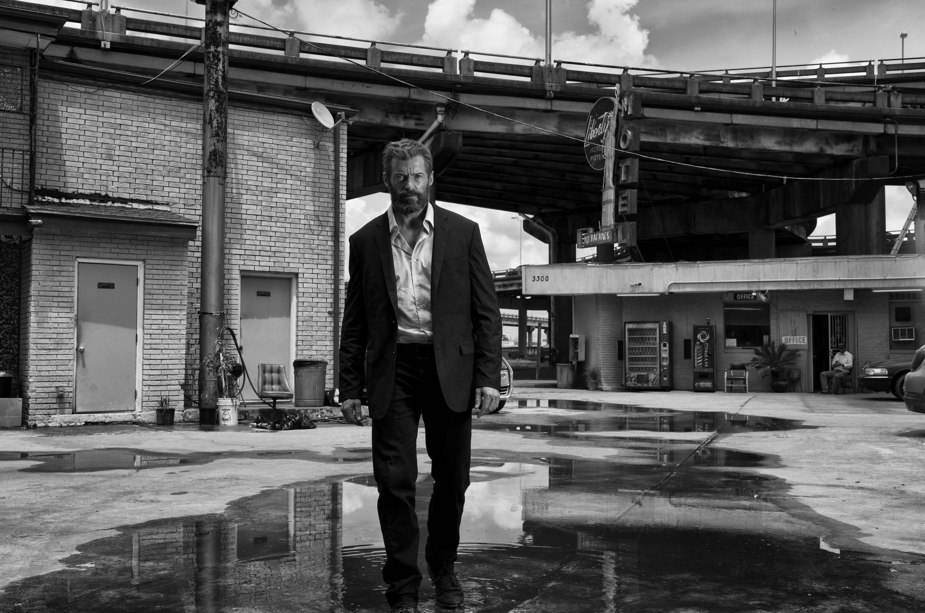Una ultima mirada de Hugh Jackman como Logan/ Wolverine.