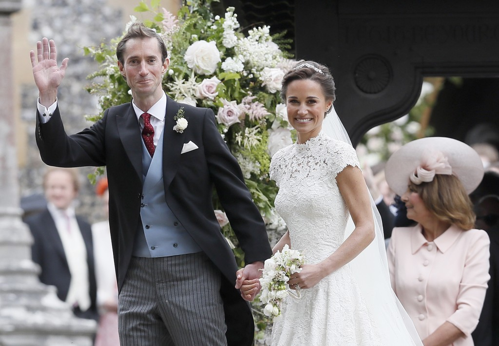 Pippa Middleton y James Matthews (AP)