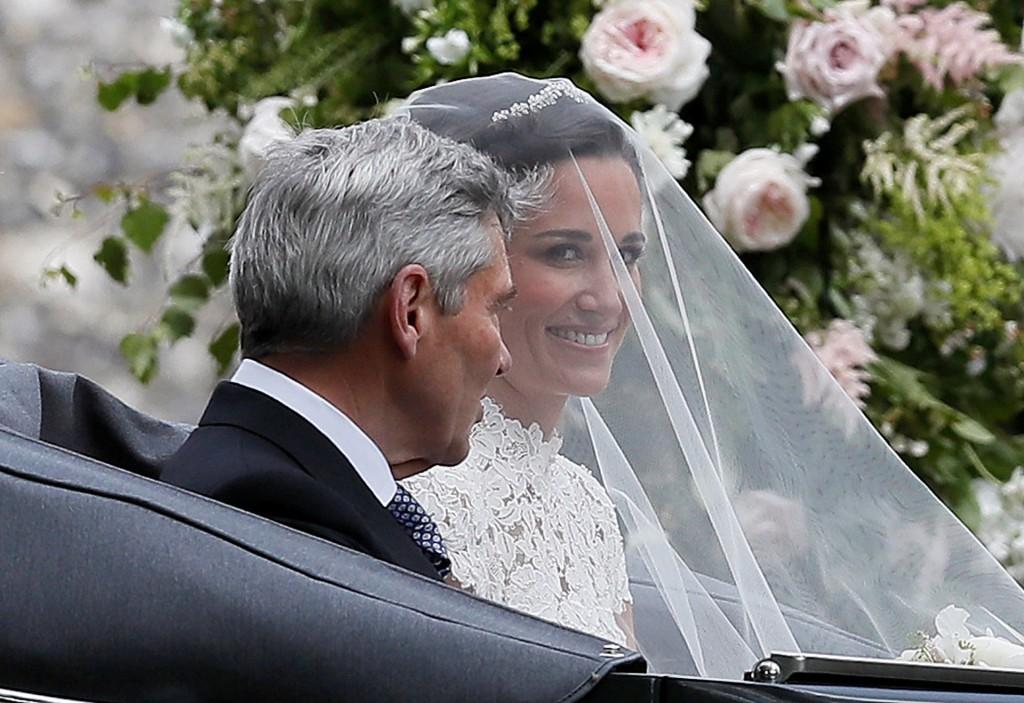 La llegada de Pippa Middleton (Reuters)