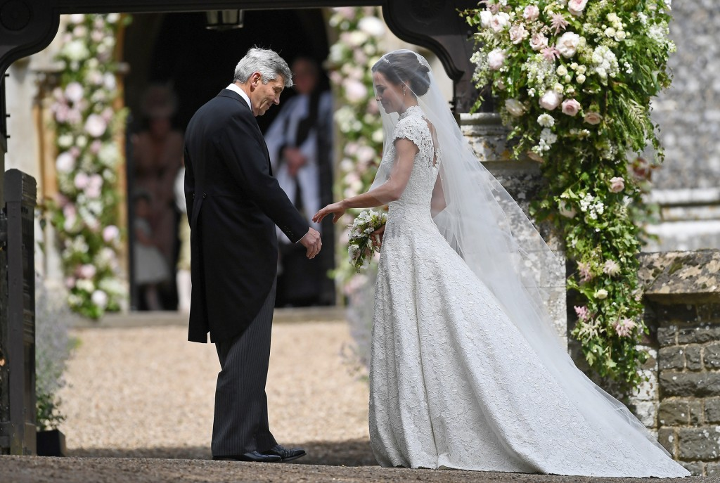 Pippa Middleton antes de contraer matrimonio (Reuters)