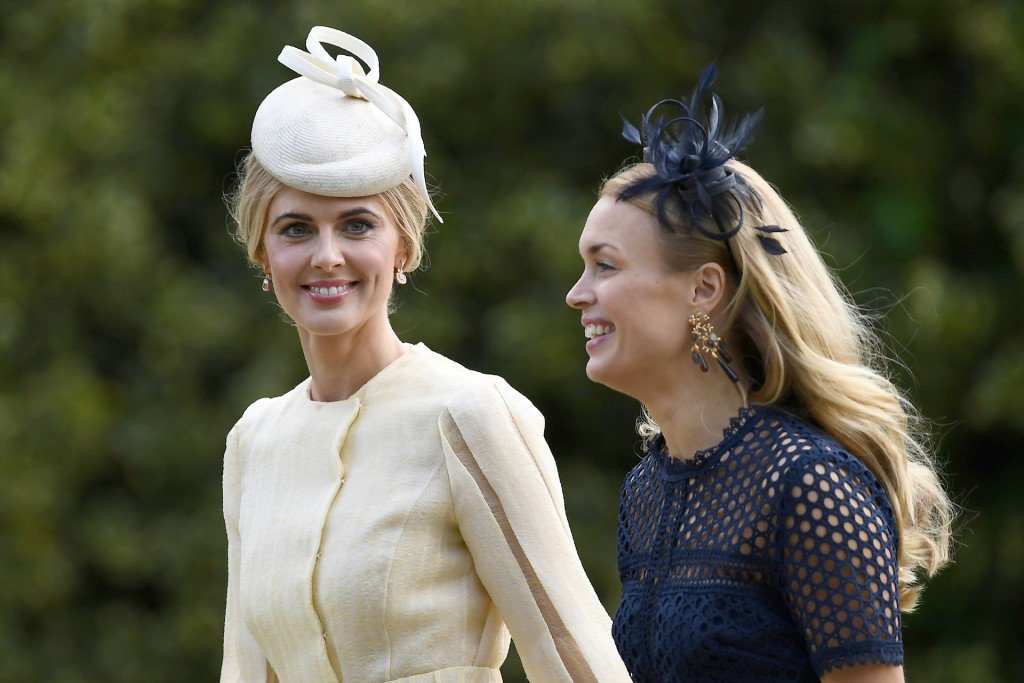 Donna Air (izquierda), novia de James Middleton (Reuters)