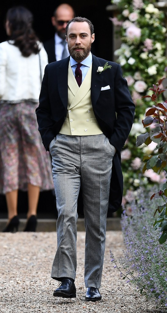 James Middleton, hermano de la novia (Reuters)