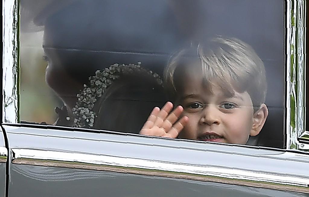 El pequeño príncipe George (AFP)