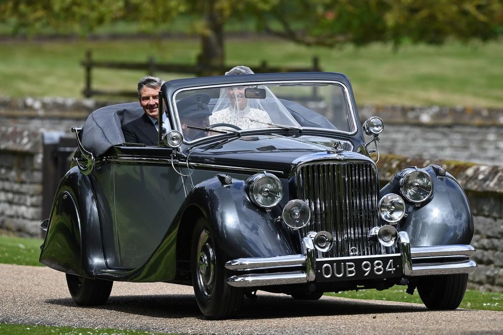 La llegada de la novia (AFP)