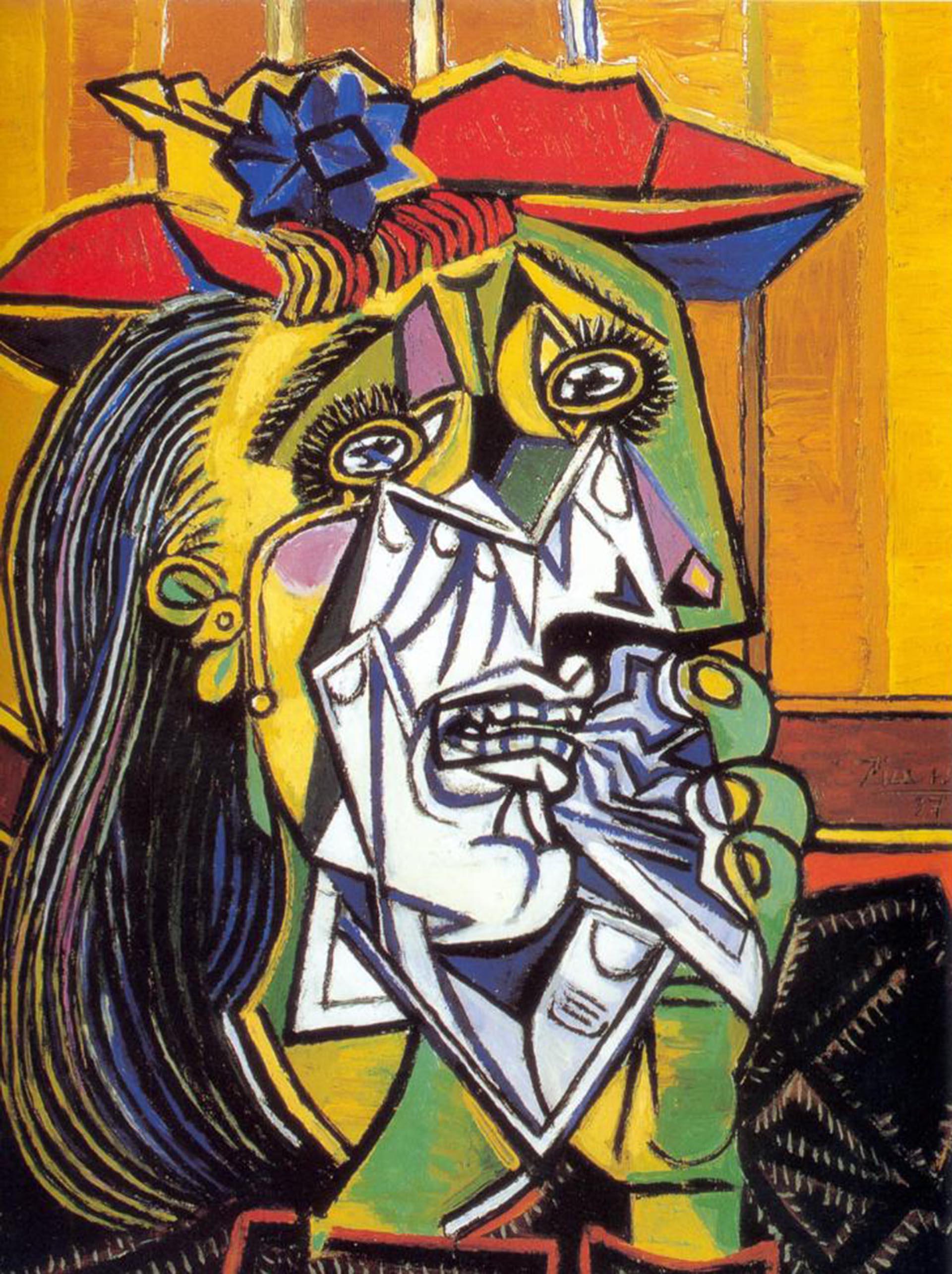 """Mujer que llora"", de Picasso (Tate Gallery)"