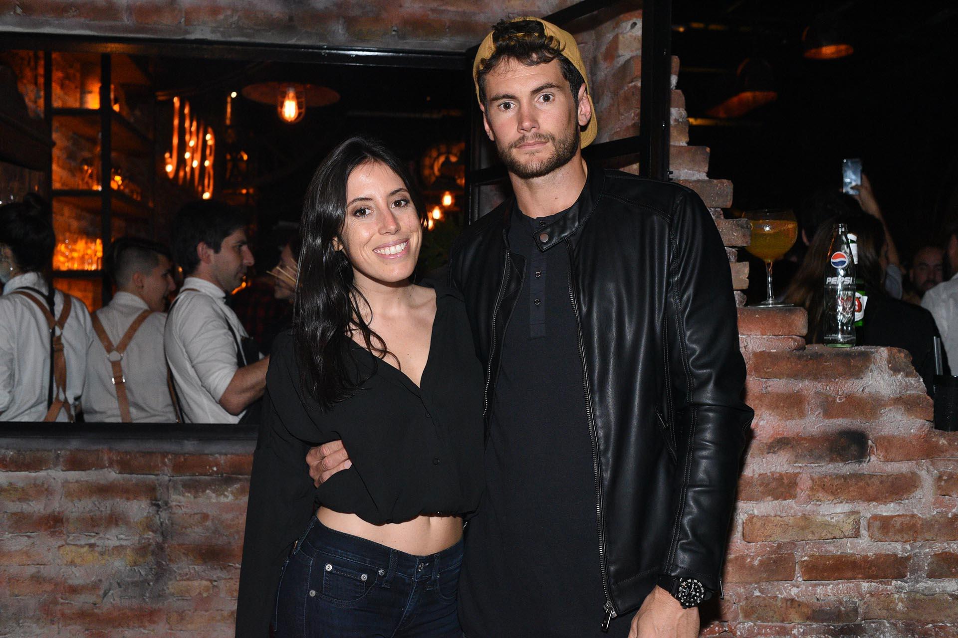 Sofía Sarkany y Tomi Allende