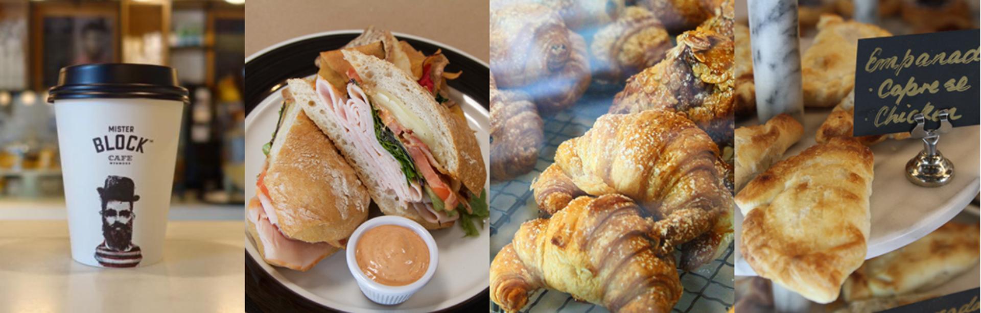 Las delicias que pueden encontrar en el menú que ofrecen en Mister Block Café Miami, ubicado en2621 NW 2nd Ave, FL.