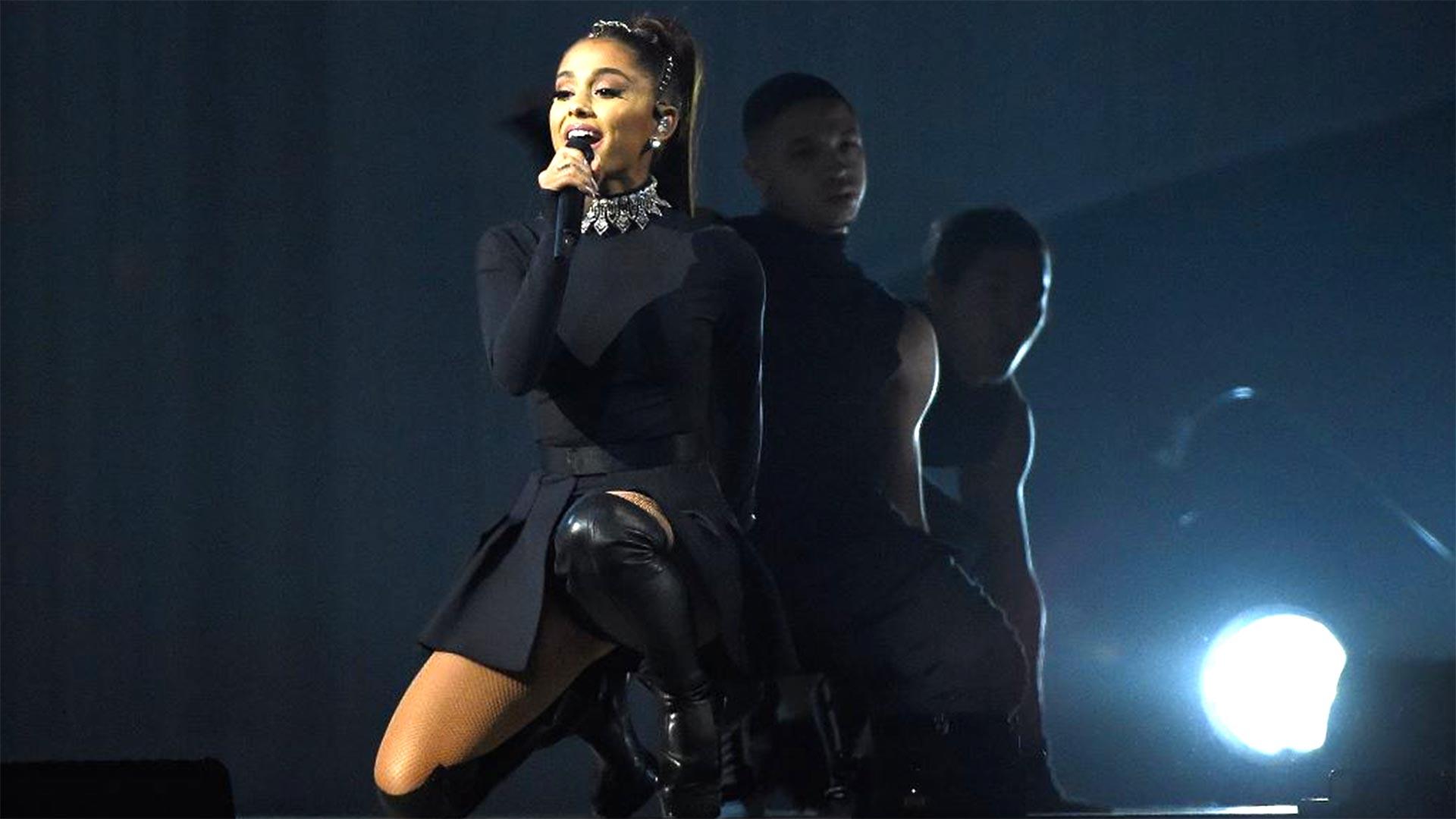 Ariana Grande.