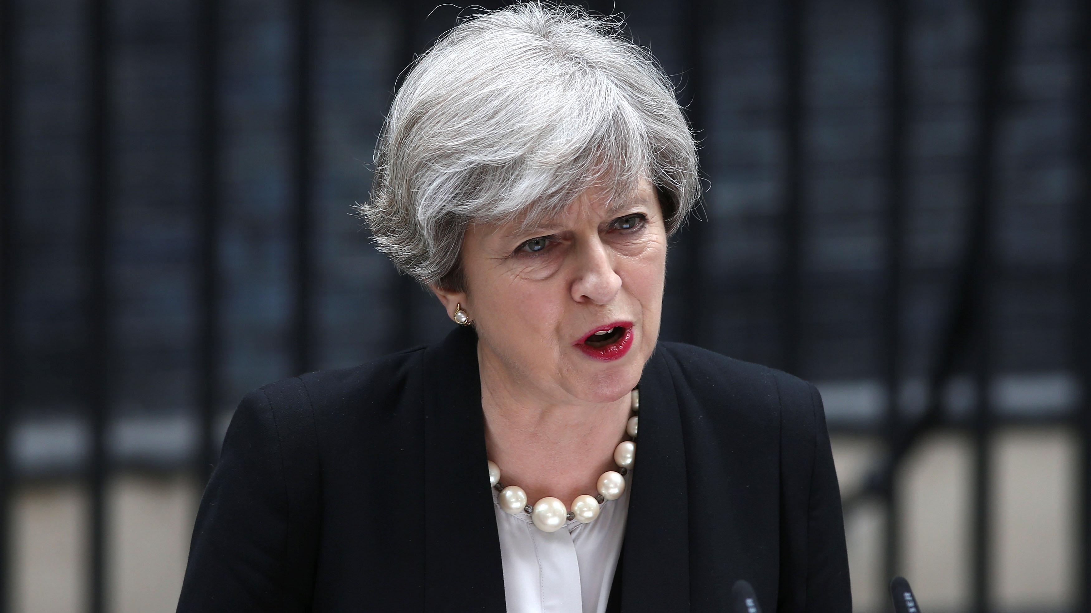 Theresa May (REUTERS/Neil Hall)