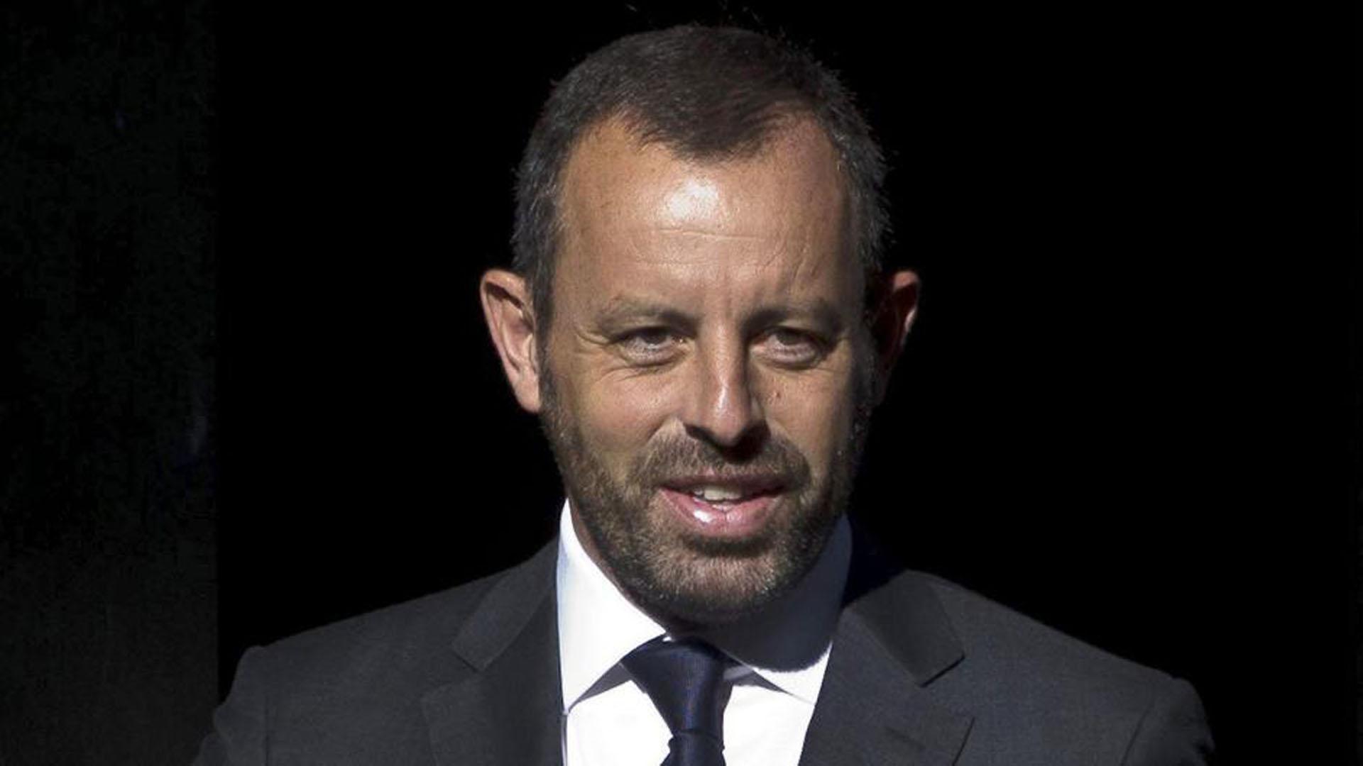 Sandro Rosell, ex presidente del Barcelona FC, fue detenido por blanqueo de capitales (EFE)