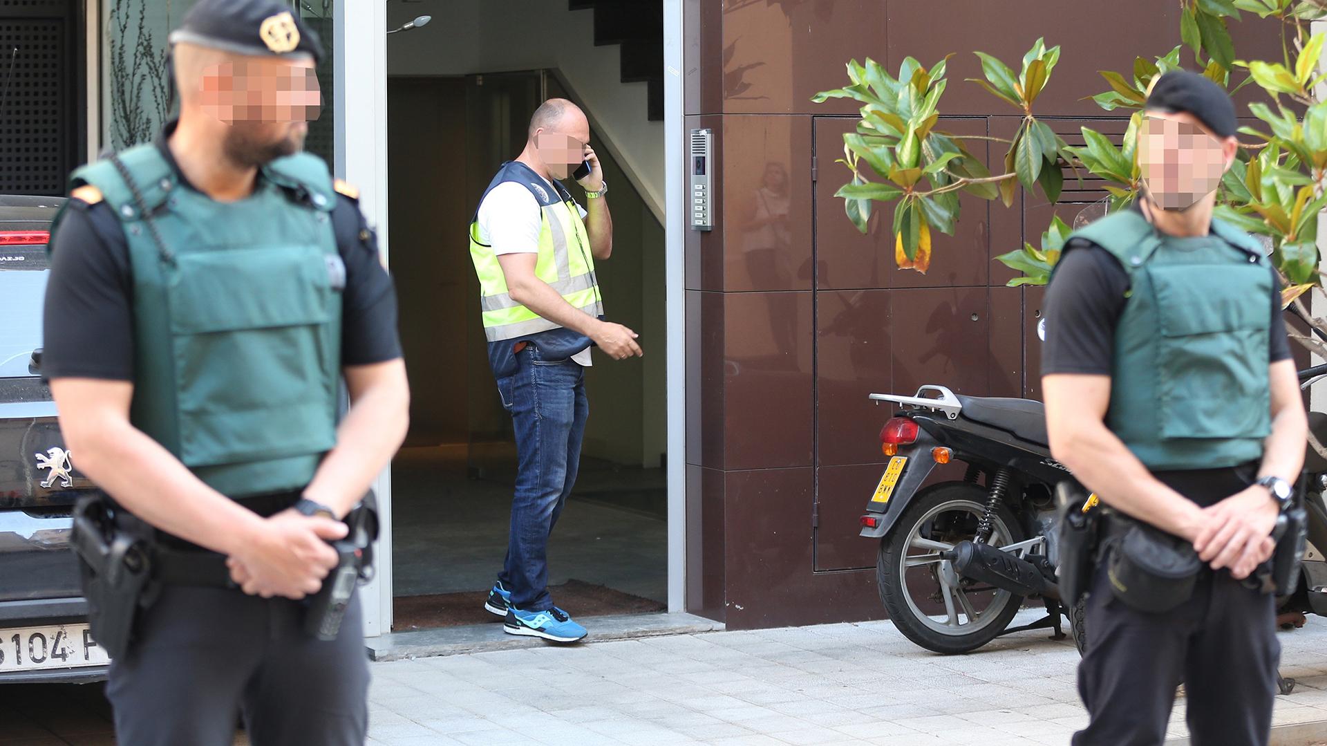 La Policía detuvo a Rosell en su domicilio de Barcelona por supuesto cobro de comisiones ilícitas por los derechos de TV de la selección brasileña (EFE)