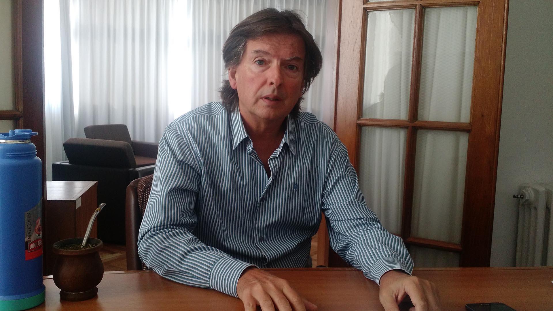 Mario Coriolano, titular de la Defensoría de Casación provincial.