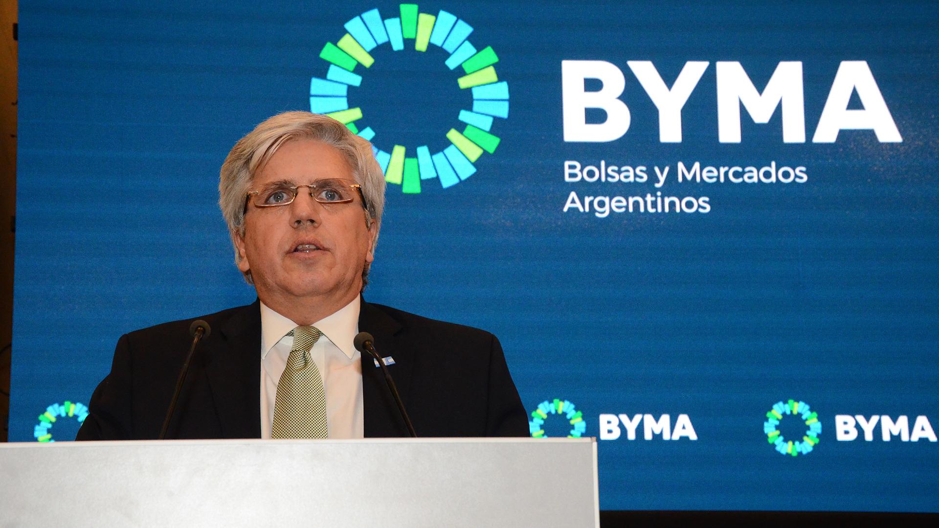 Ernesto Allaria, presidente de Bolsas y Mercados Argentinos
