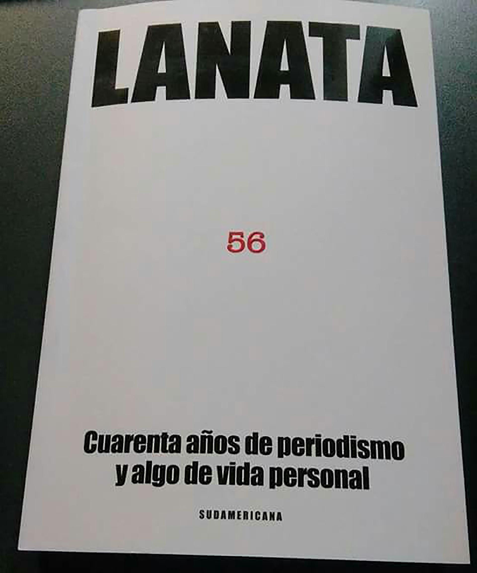 Tapa del nuevo libro de Lanata.