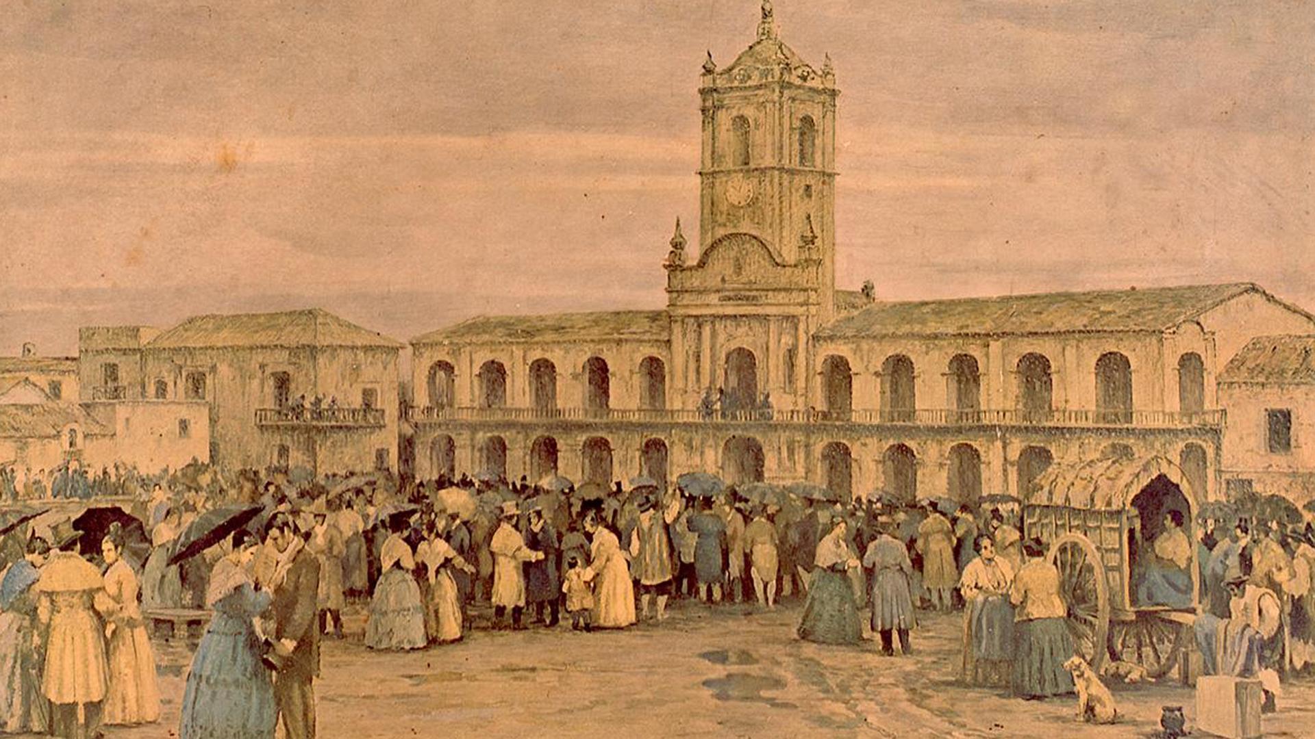 En el 1800 el locro ya era un platillo ampliamente consumido en Buenos Aires