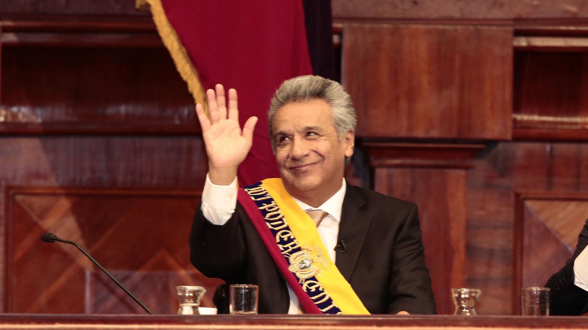 24/5 Lenin Moreno asume la presidencia de Ecuador