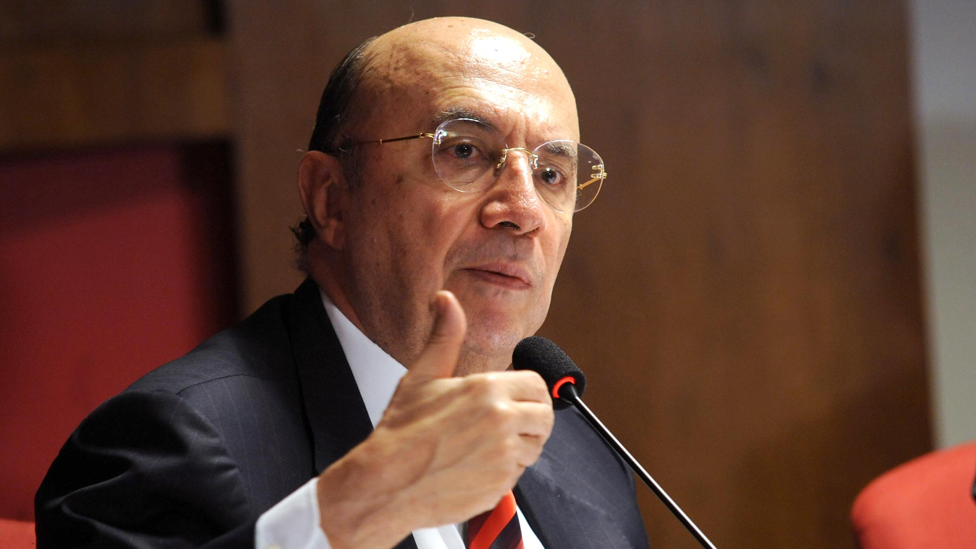 Henrique Meirelles, el candidato del partido del actual presidente Michel Temer