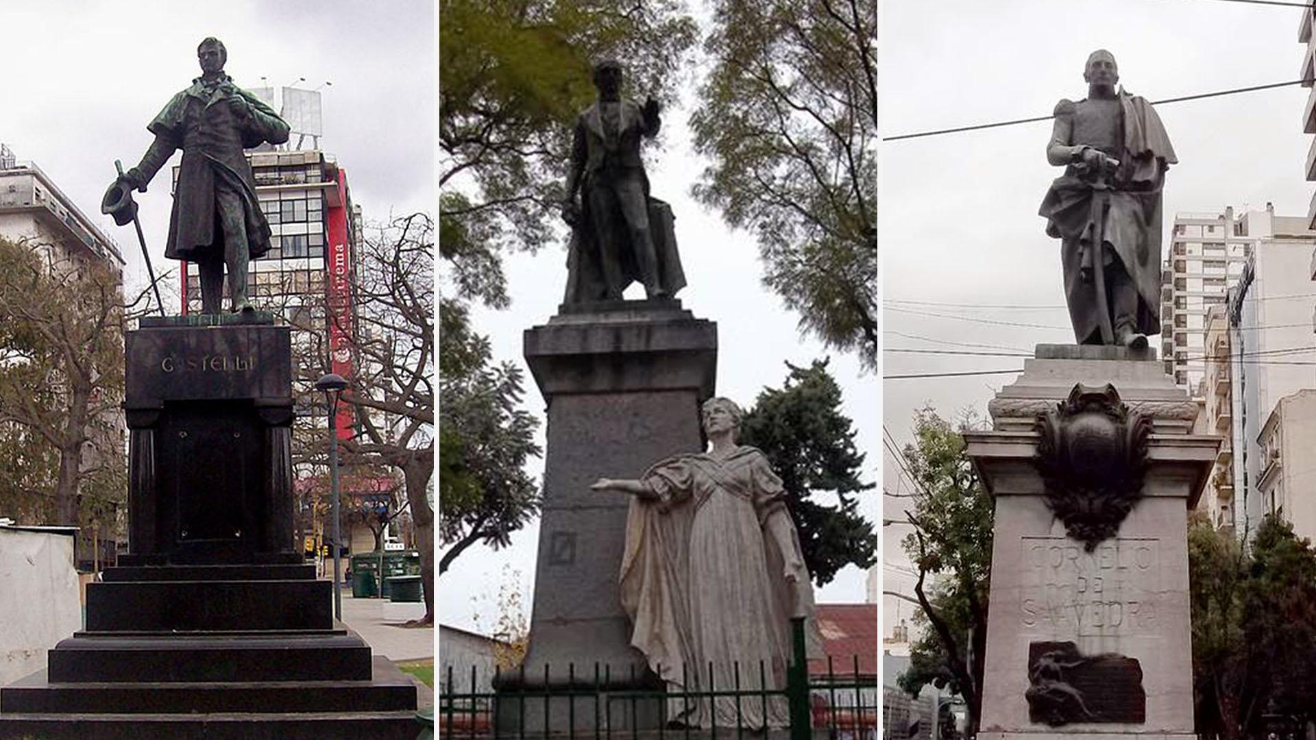 Los monumentos de la Ciudad que recuerdan la Revolución de Mayo ...