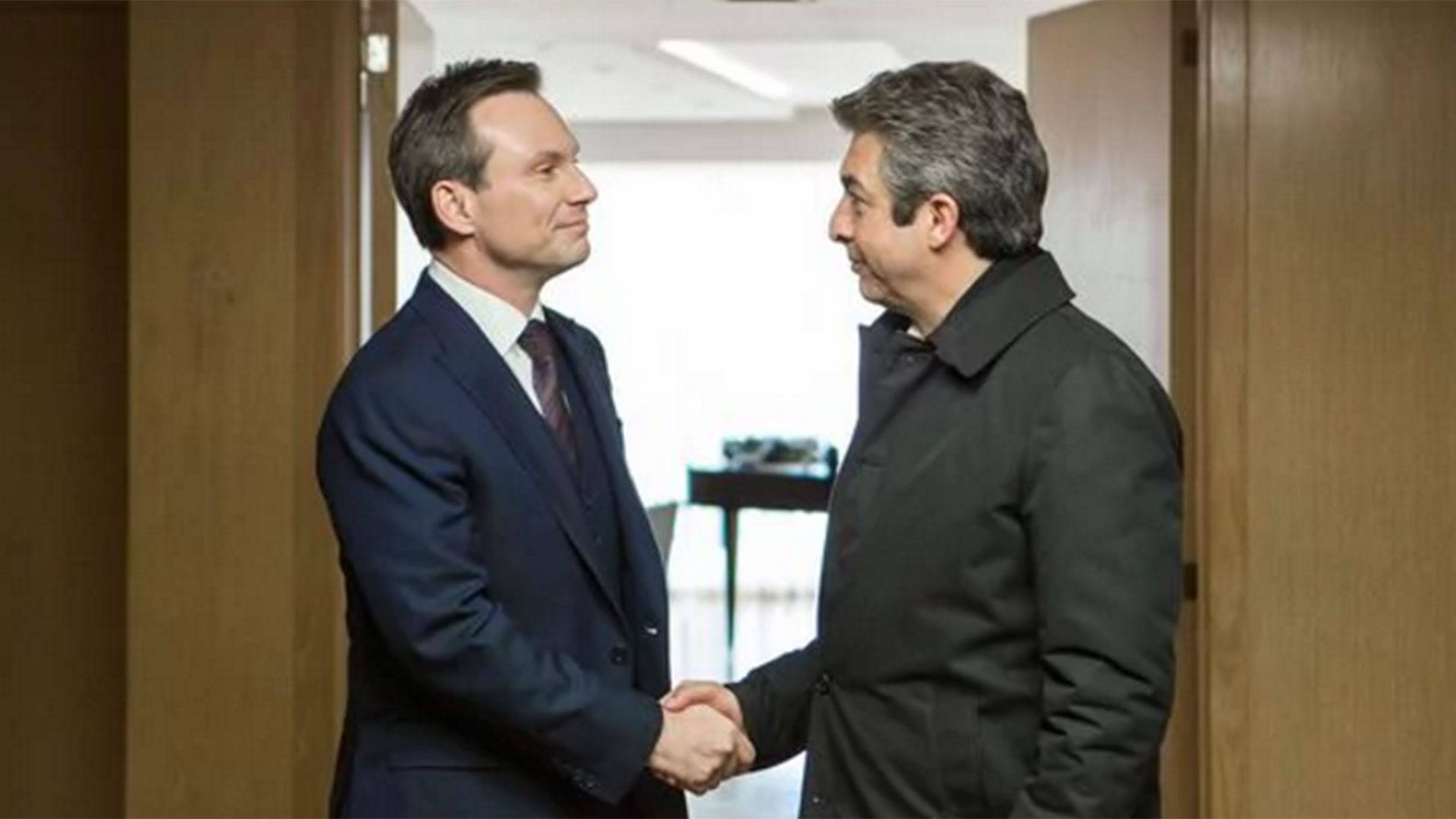 """Christian Slater y Darín, en """"La cordillera"""""""